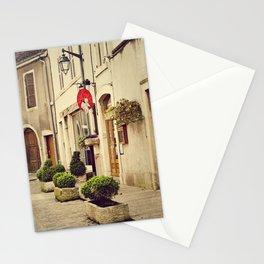 Le P'tit Paradis, Beaune France Storefront Stationery Cards