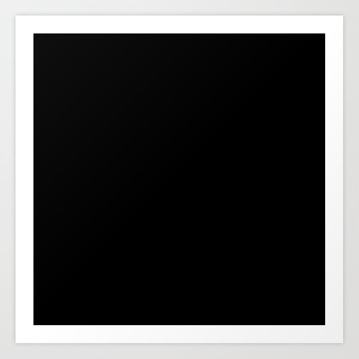 Black Minimalist Kunstdrucke