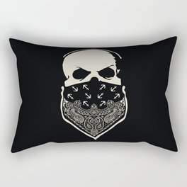 Cover your Mouth Rectangular Pillow