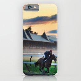 Saratoga Springs Race Course iPhone Case