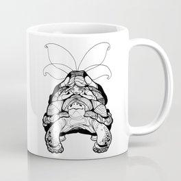 Blossom Light Turtle Fairy Elf Coffee Mug