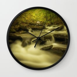 Peaceful Autumn Wall Clock
