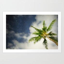 Hawaiian Nights Art Print