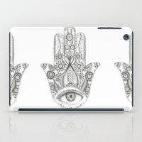 hamsa iPad Cases featuring Hamsa by Erzaguri