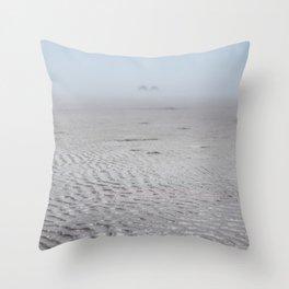 Ripples & Twin Rocks Throw Pillow