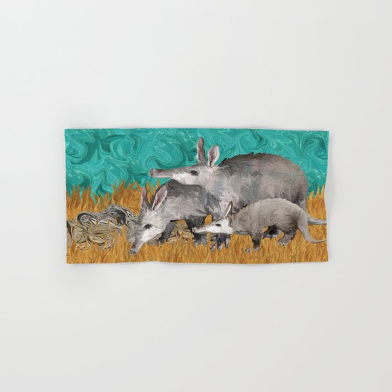 3 As in Aardvark Hand & Bath Towel