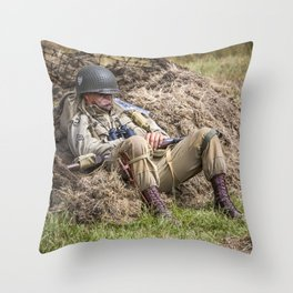 Time out. Throw Pillow