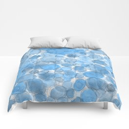 Water Drops Comforters