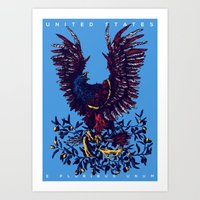 United States Art Print