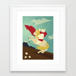 Forward! Framed Art Print