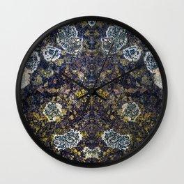fashionably read reflective Wall Clock
