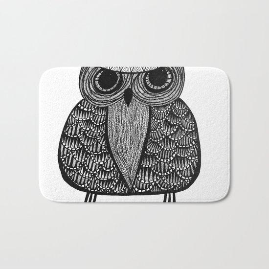 Mystic Owl Bath Mat