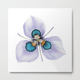 Flower Painting | MORAEA VILLAS | Watercolour | Nature Metal Print