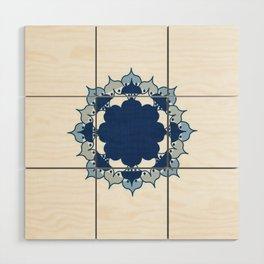 Lotus Mandala 1.0 Wood Wall Art