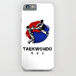 Taekwondo iPhone Case