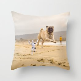Run For Your Life Throw Pillow