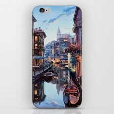 THE CITY OF LOVE iPhone & iPod Skin