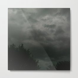 beauty in the mundane - texas storm Metal Print