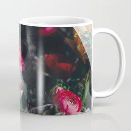 Man's back with flowers Coffee Mug
