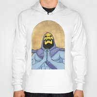 skeletor Hoodies featuring Saint Skeletor by Ghirigori Lab