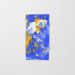 Psychedelic Abstract Screen Printing Hand & Bath Towel