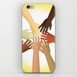 Diverse Hands iPhone Skin