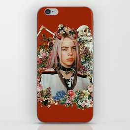 Billie Eilish Graphic Artwork iPhone Skin
