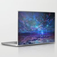 discount Laptop & iPad Skins featuring Ocean, Stars, Sky, and You by Melissa Hui Wang (muddymelly)
