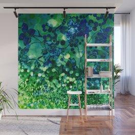 Bokeh floral Wall Mural