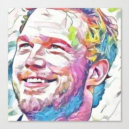 Chris Pratt (Creative Illustration Art) Canvas Print