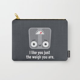Through Thick and Thin Carry-All Pouch
