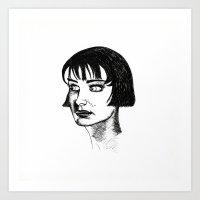 Closer to Alice Art Print