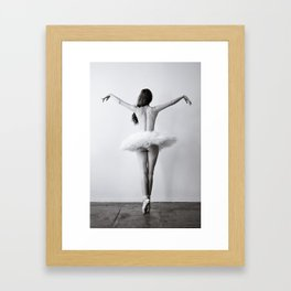 The Dying Swan Framed Art Print