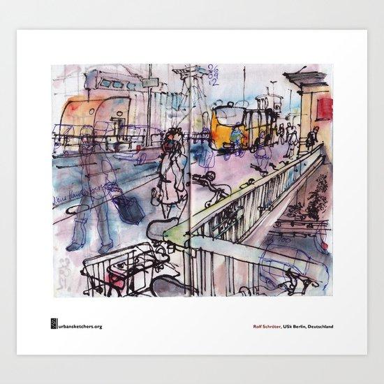 """Rolf Schröter, """"Wschschrrrrh"""" Art Print"""