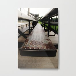 In The Stands Metal Print