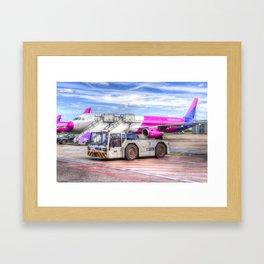 Wizz Air Airbus A321 Framed Art Print