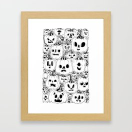 Club of Jacks Framed Art Print