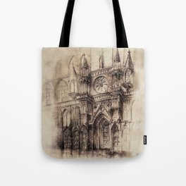 Gothic Cathedral 2 Tote Bag