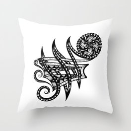 Shoulder Band Tattoo Throw Pillow