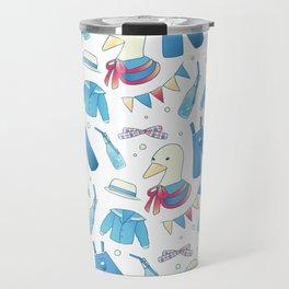 Breathless Duckie Blue Travel Mug