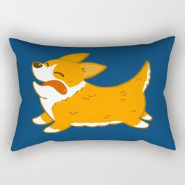 Corgi!! Rectangular Pillow
