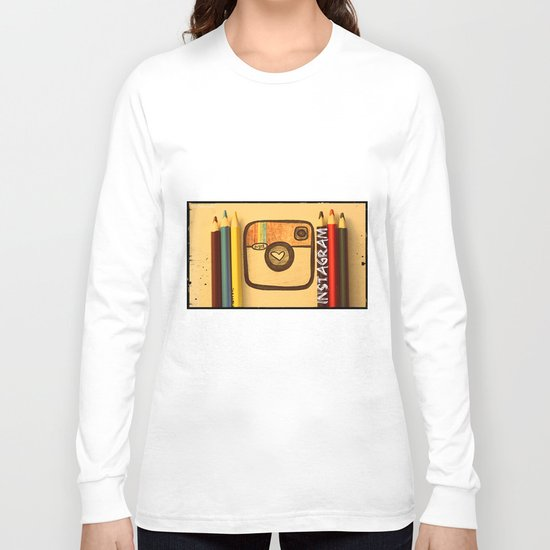 For Instagram Lovers ;) Long Sleeve T-shirt