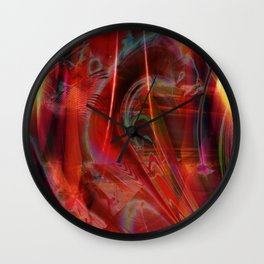 """Put On Your Red Dress"" Wall Clock"