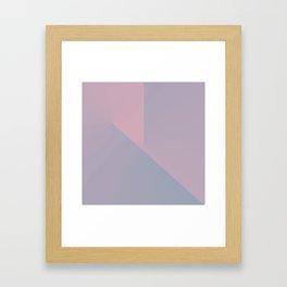 Pastel Pane 2 Framed Art Print