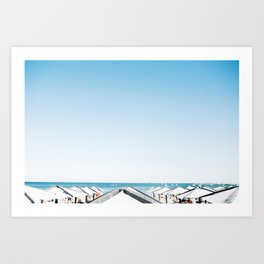 Cascais Beach Bums Art Print