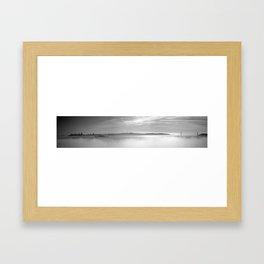 San Francisco: Bridge to Bridge Framed Art Print