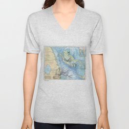 West Palm Beach Turtle Unisex V-Neck