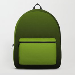 Ombre | Lime Green and Charcoal Grey Backpack