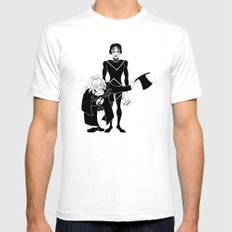 Cabinet of Dr Caligari Mens Fitted Tee White SMALL