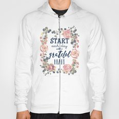 Vintage Flowers Frame Quotes Hoody